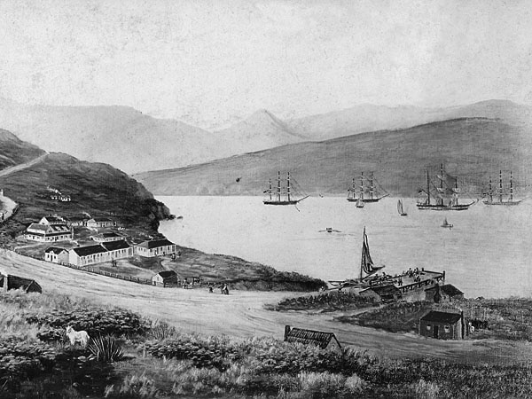 anniversary of four ships in lyttelton